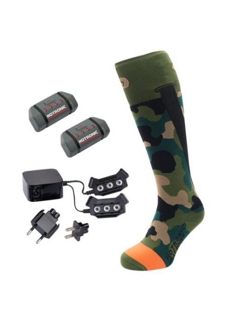 Elektricky vyhrievané ponožky - BD HEAT SOCKS XLP PFI 30 – CAMO-SADA