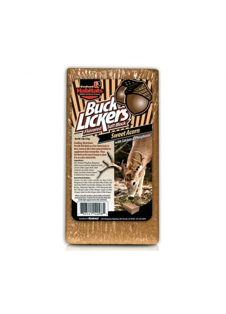 Soľná minerálna kocka BUCK LICKERS - Sladký žaluď